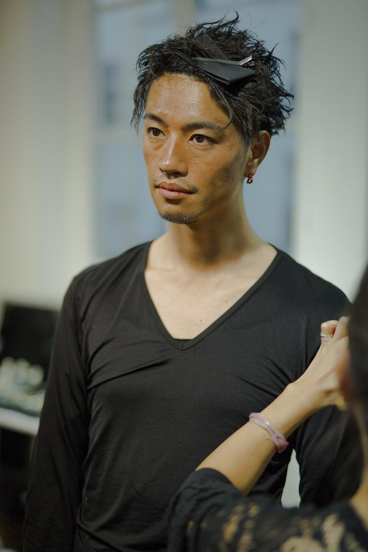 yohji yamamoto aw17 backstage