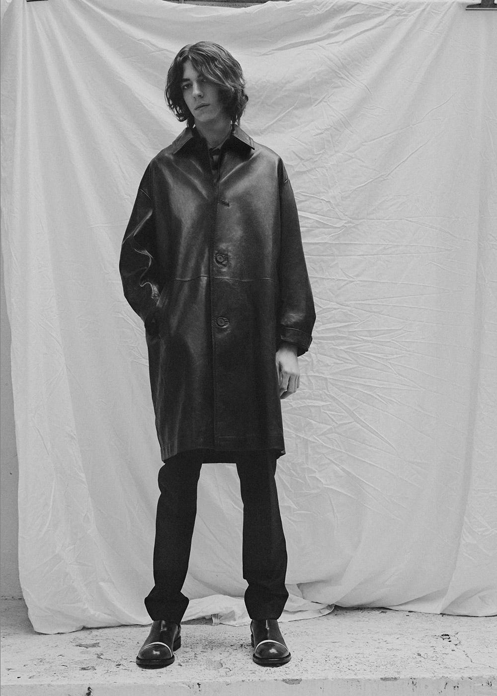 Coat Marni, pants & shoes Acne Studios