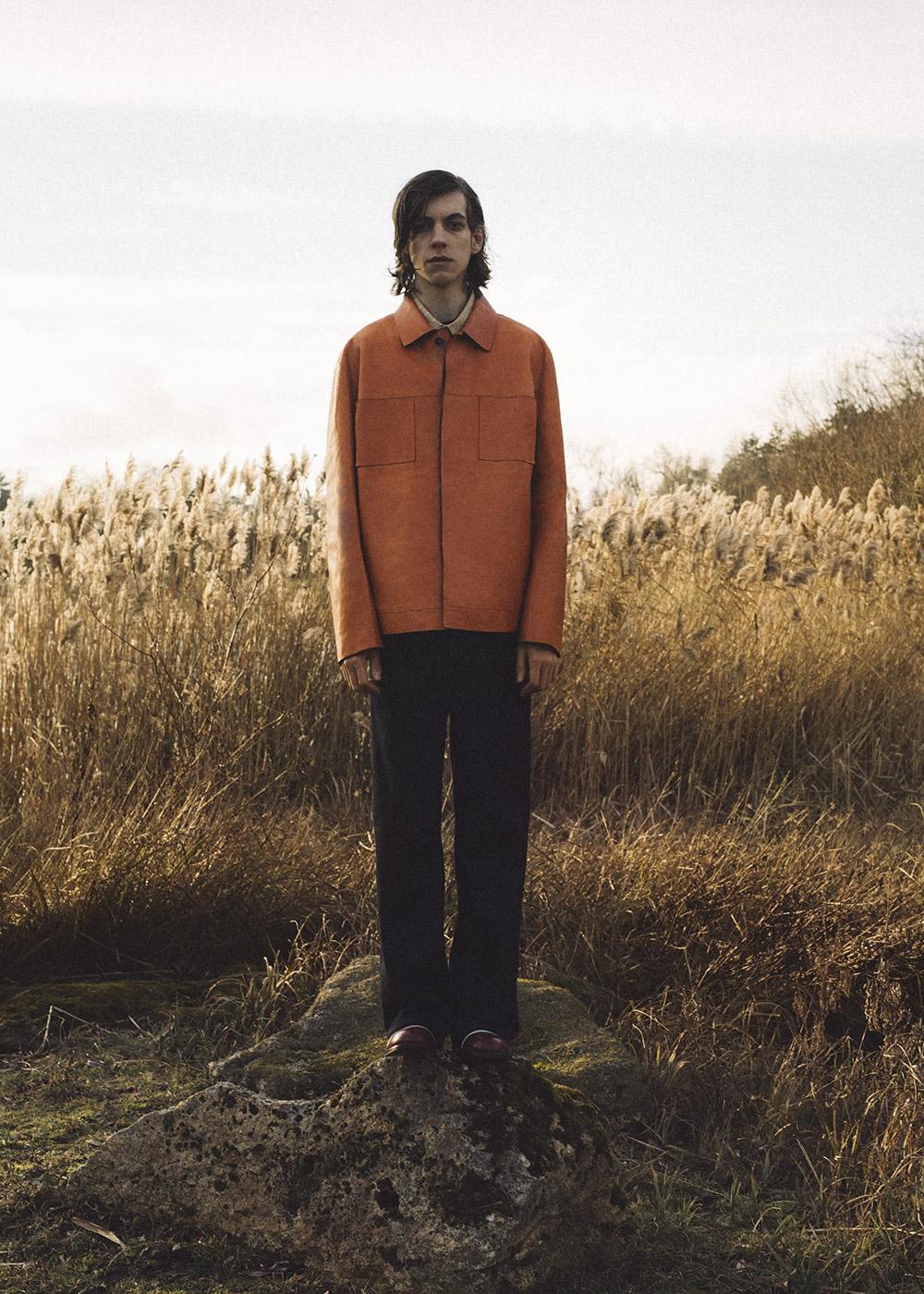 Coat Marni, shirt Julien David, pants Cos, shoes Adieu