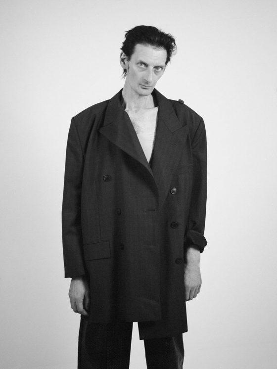 Leather Pants SITUATIONIST, Blazer BALENCIAGA