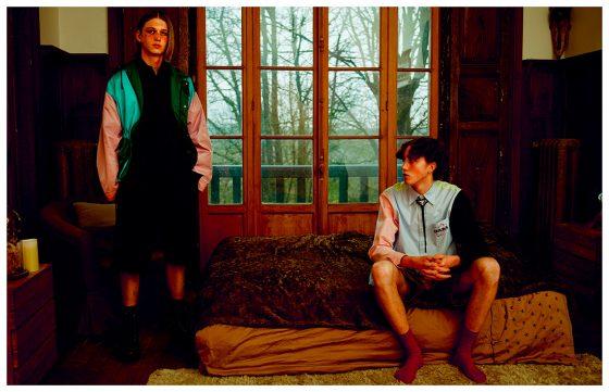 All clothes Saint Laurent by Prada