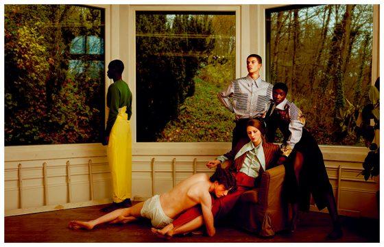 All clothes Saint Laurent by Vivienne Westwood
