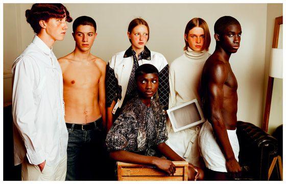 All clothes Saint Laurent by Louis Vuitton